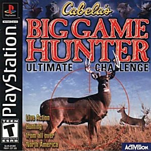 Big Game Hunter: Ultimate Challenge Game - PlayStation 1 (PS1) - Disc Only