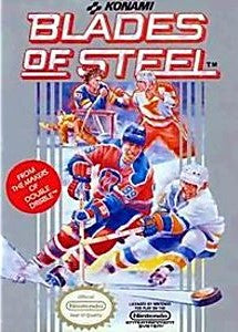 Blades of Steel Game - Nintendo (NES)