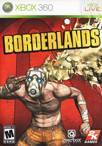 Borderlands Game - Xbox 360 - Disc Only