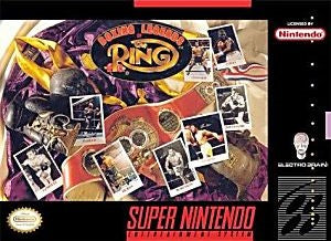 Boxing Legends of the Ring Game - Super Nintendo (SNES)