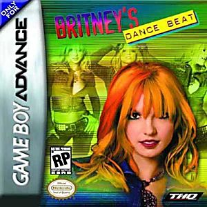 Britney's Dance Beat Game - Nintendo Game Boy Advance