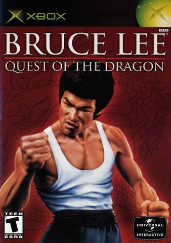 Bruce Lee Quest of the Dragon Game - Xbox