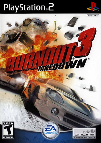 Burnout 3 Takedown Game - PlayStation 2 (PS2) - Disc Only