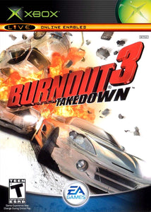 Burnout 3 Takedown Game - Xbox - Disc Only