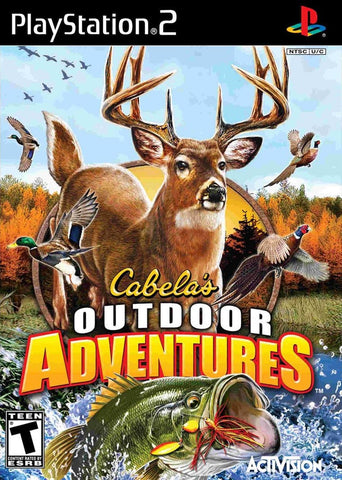 Cabela's Outdoor Adventures Game - PlayStation 2 (PS2) - Disc Only