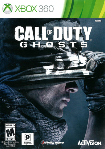 Call of Duty: Ghosts Game - Xbox 360