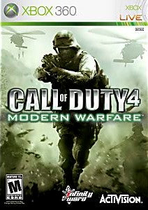 Call of Duty 4: Modern Warfare Game - Xbox 360