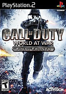 Call of Duty: World at War - Final Fronts Game - PlayStation 2 (PS2)