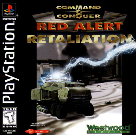 Command & Conquer Red Alert Retaliation Game - PlayStation 1 (PS1) - Disc Only