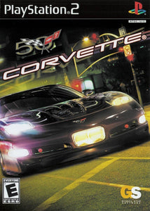 Corvette Game - PlayStation 2 (PS2) - Disc Only