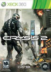 Crysis 2 Game - Xbox 360 - Disc Only