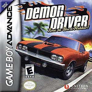 Demon Driver: Time to Burn Rubber! Game - Nintendo Game Boy Advance