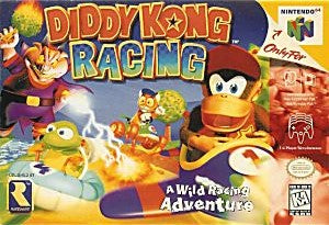 Diddy Kong Racing Game - Nintendo 64 (N64)