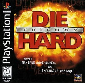 Die Hard Trilogy Game - PlayStation 1 (PS1)