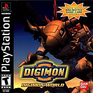Digimon World Game - PlayStation 1 (PS1)