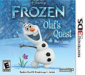 Frozen: Olaf's Quest Game - Nintendo 3DS