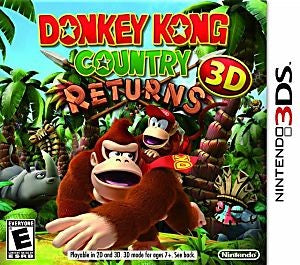 Donkey Kong Country Returns 3D Game - Nintendo 3DS