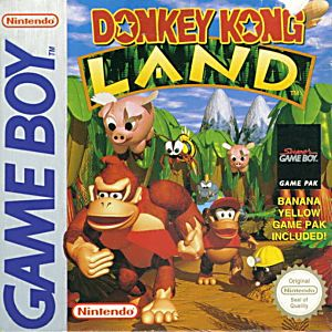 Donkey Kong Land Game - Nintendo Game Boy