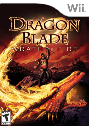 Dragon Blade Wrath of Fire Game - Nintendo Wii - Disc Only
