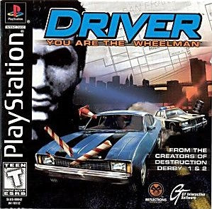 Driver Game - PlayStation 1 (PS1) - Disc Only