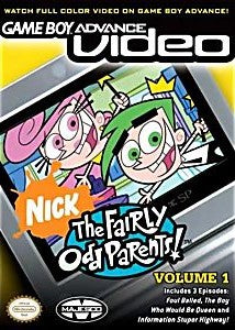 Game Boy Advance Video: The Fairly Odd Parents Volume 1 Game - Nintendo Game Boy Advance
