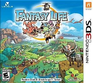 Fantasy Life Game - Nintendo 3DS