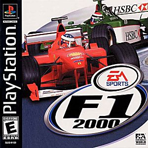 Formula One 2000 Game - PlayStation 1 (PS1)
