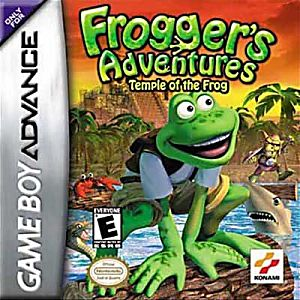 Frogger's Adventures: Temple of the Frog Game - Nintendo Game Boy Advance