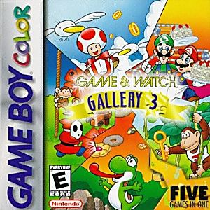 Game & Watch Gallery 3 Game - Nintendo Game Boy Color
