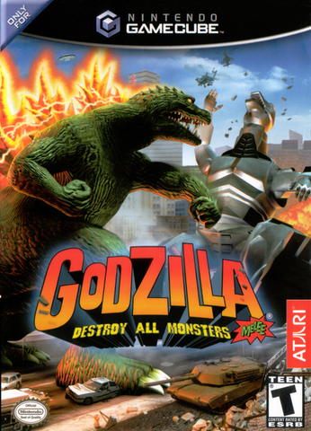 Godzilla Destroy All Monsters Melee Game - Nintendo GameCube