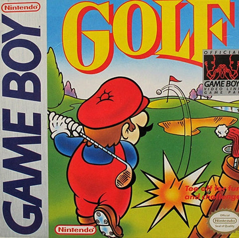 Golf Game - Nintendo Game Boy
