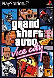 Grand Theft Auto: Vice City Game - PlayStation 2 (PS2)
