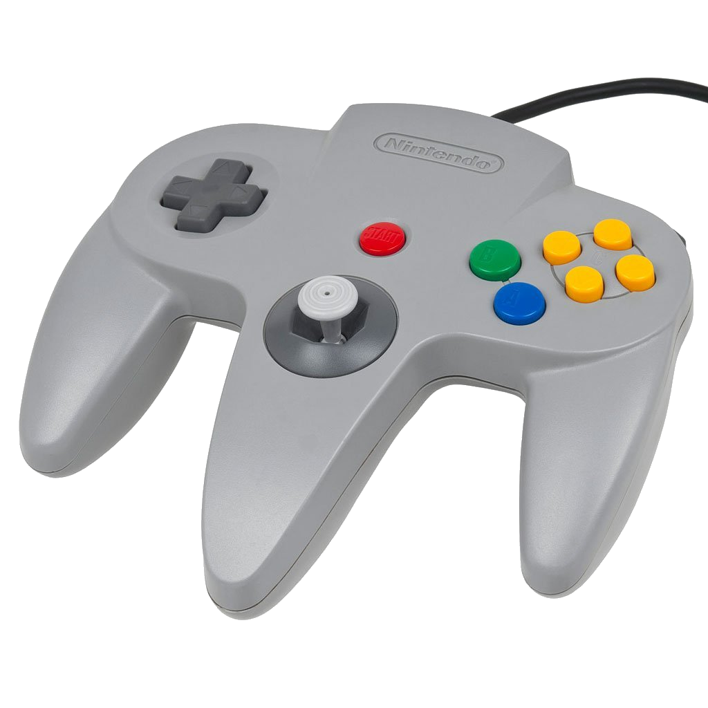 Nintendo 64 Grey Controller - OEM - Tight Joystick