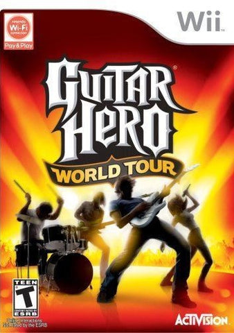 Guitar Hero World Tour Game - Nintendo Wii - Disc Only