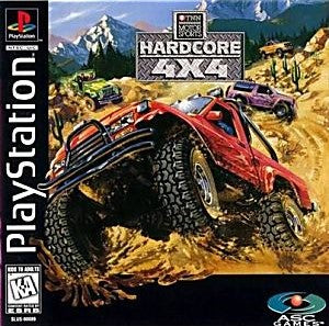 Hardcore 4X4 Game - PlayStation 1 (PS1) - Disc Only