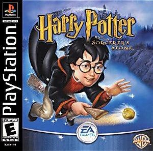 Harry Potter and the Sorcerer's Stone Game - PlayStation 1 (PS1) - Disc Only