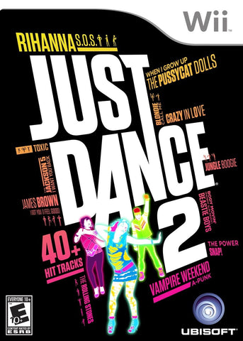 Just Dance 2 Game - Nintendo Wii - Disc Only