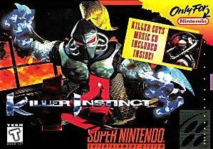 Killer Instinct Game - Super Nintendo (SNES)