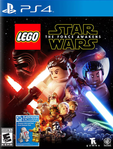 LEGO Star Wars The Force Awakens Game - PlayStation 4 (PS4)