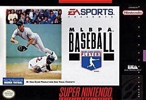 MLBPA Baseball Game - Super Nintendo (SNES)