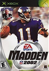 Madden NFL 2002 Game - Xbox