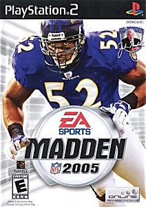 Madden NFL 2005 Game - PlayStation 2 (PS2)