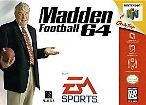 Madden Football 64 - Nintendo 64 (N64)