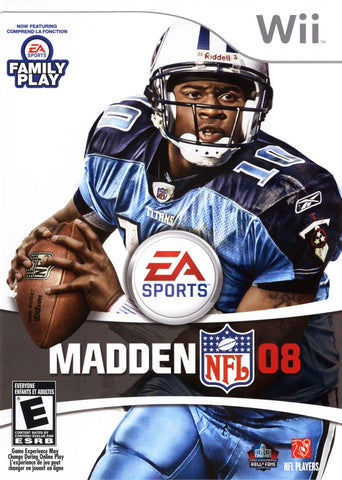 Madden NFL 08 Game - Nintendo Wii - Disc Only