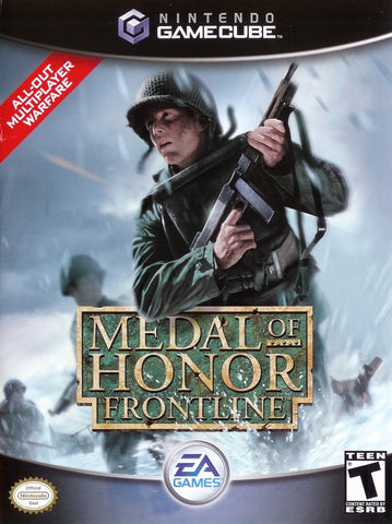 Medal of Honor Frontline Game - Nintendo GameCube - Disc Only
