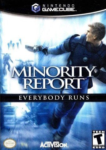 Minority Report Everybody Runs Game - Nintendo GameCube - Disc Only