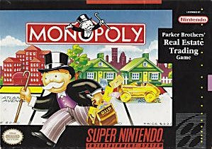 Monopoly Game - Super Nintendo (SNES)