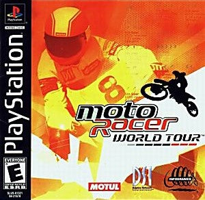 Moto Racer World Tour Game - PlayStation 1 (PS1)