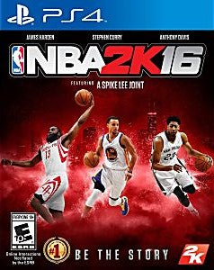 NBA 2K16 Game - PlayStation 4 (PS4)