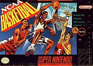 NCAA Basketball Game - Super Nintendo (SNES)
